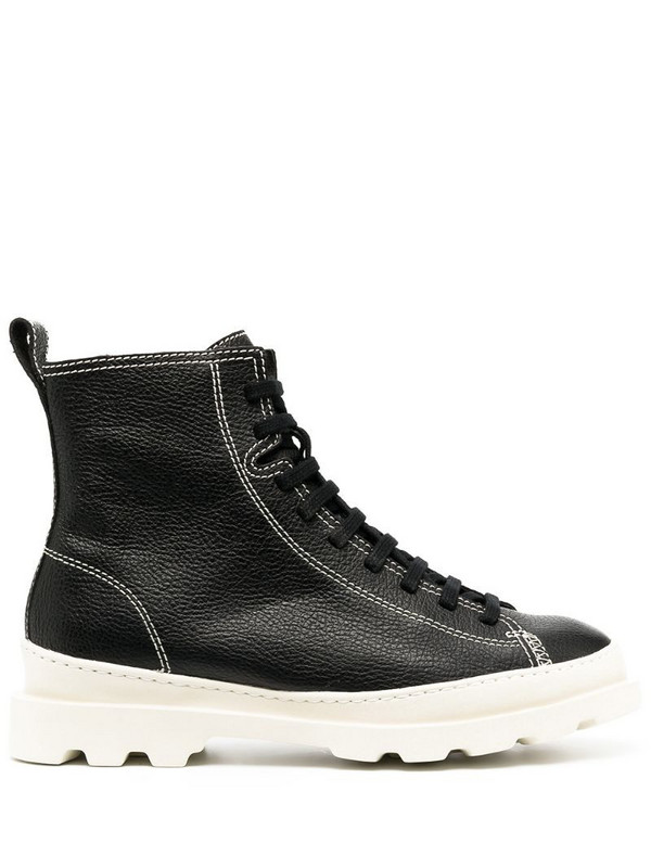 Camper Brutus lace-up boots in black