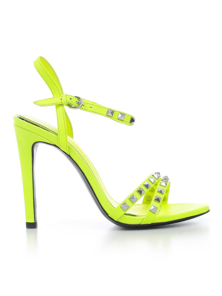 Ash Studded High-heel Sandals in yellow