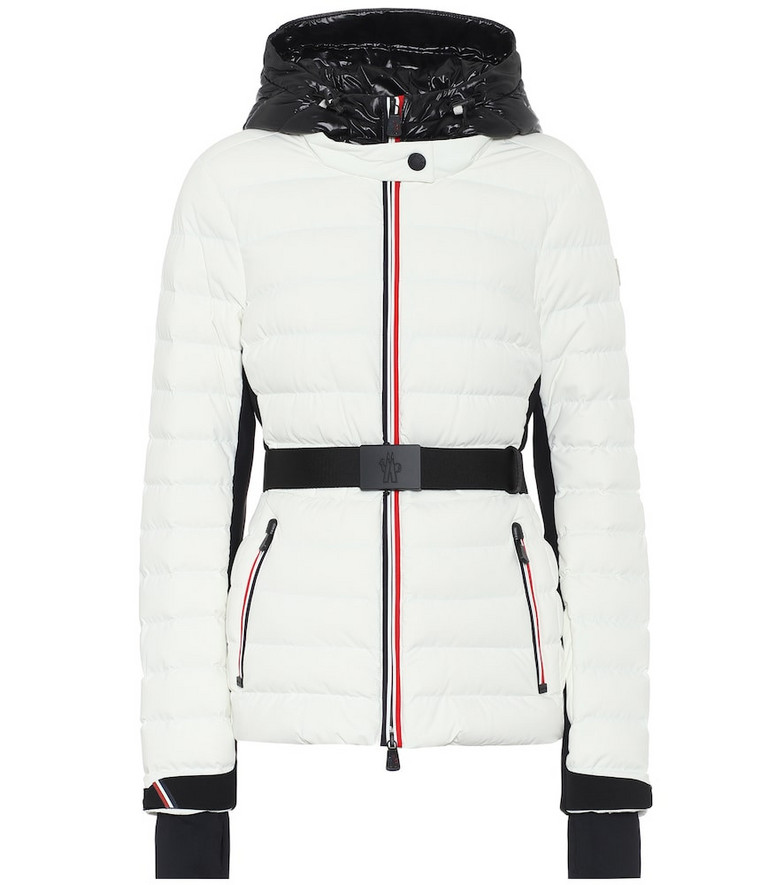 Moncler Grenoble Bruche down ski jacket in white