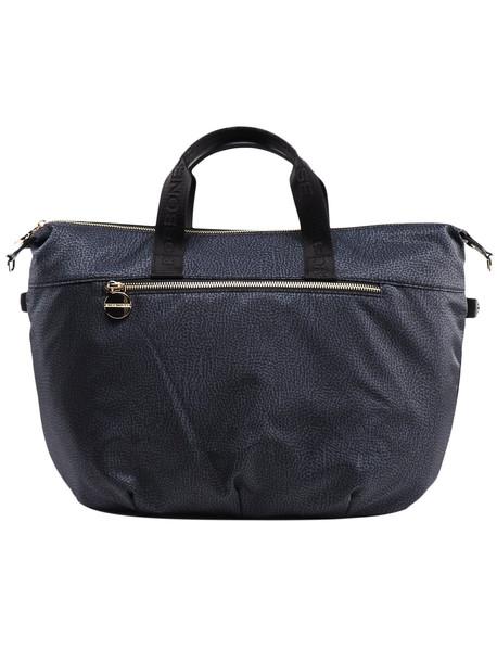 Borbonese Large Handbag in nero