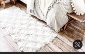 home accessory,white rug