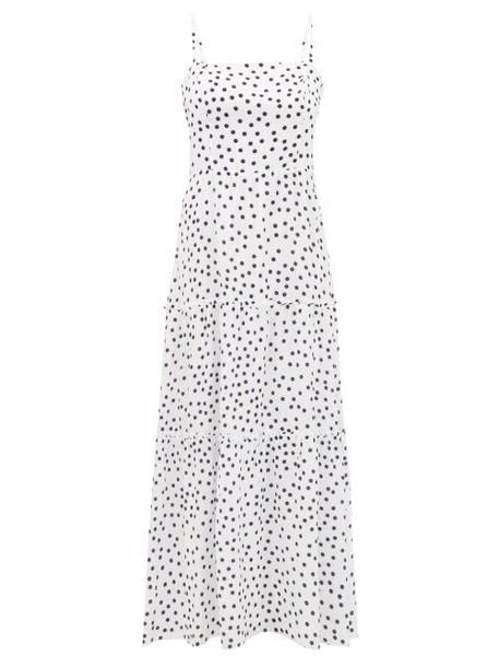 Heidi Klein - Santa Margherita Ligure Tiered Silk Dress - Womens - White Print