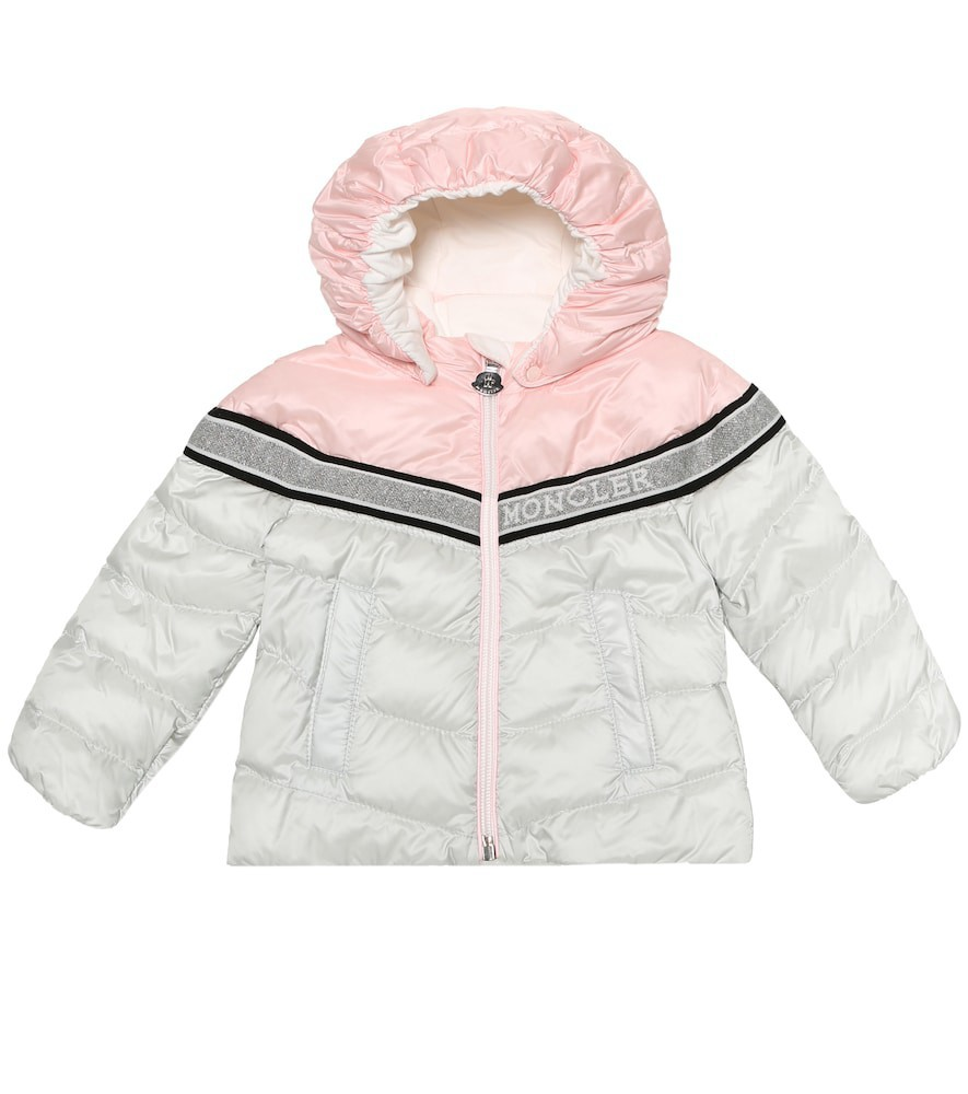 Moncler Enfant Baby Marik down puffer coat in grey
