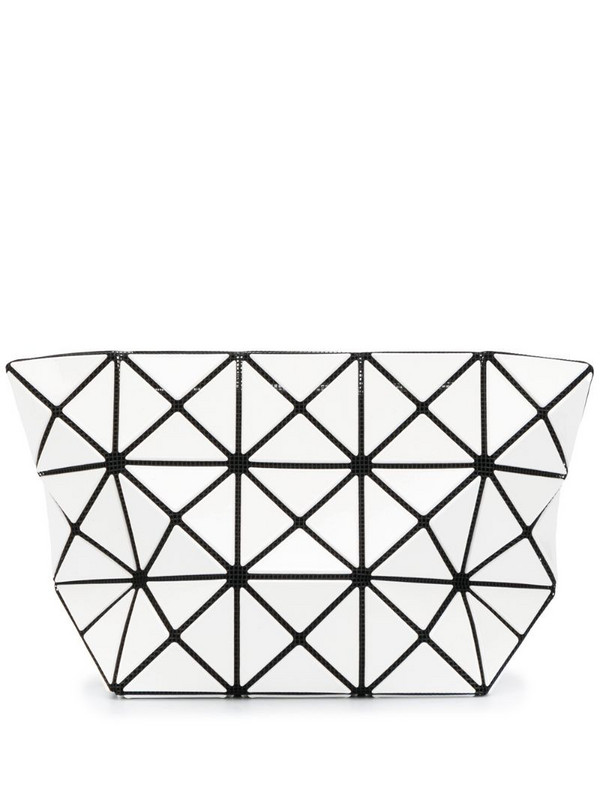 Bao Bao Issey Miyake Prism gloss pouch in white