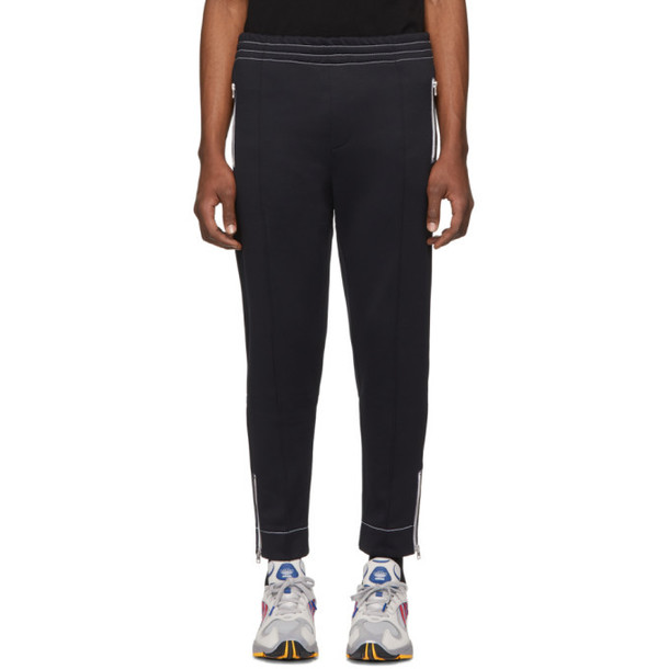 AMI Alexandre Mattiussi Black Technical Lounge Pants