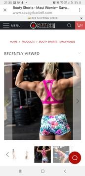 shorts,gym clothes