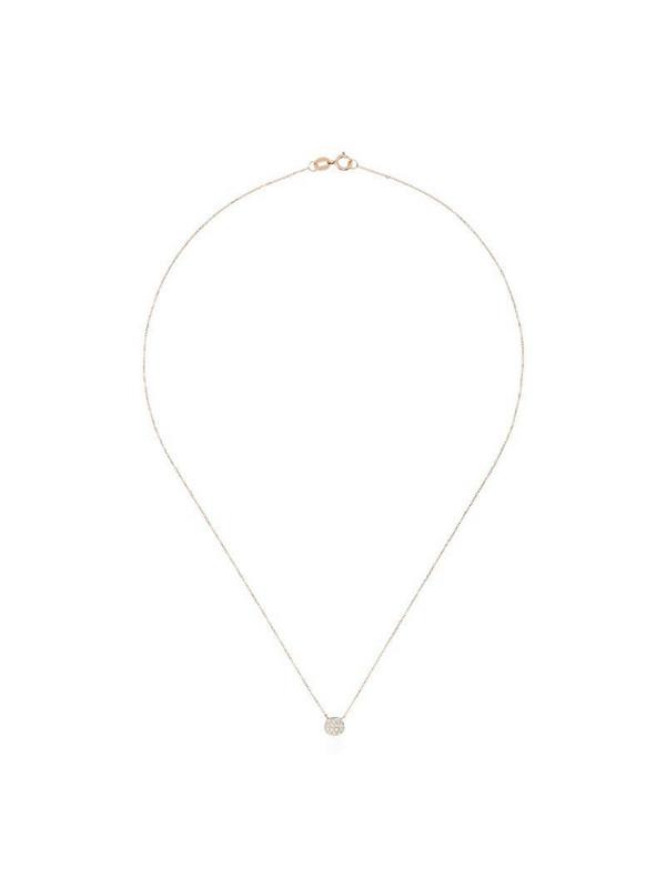 Dana Rebecca Designs 14kt rose gold Lauren Joy mini disc diamond necklace