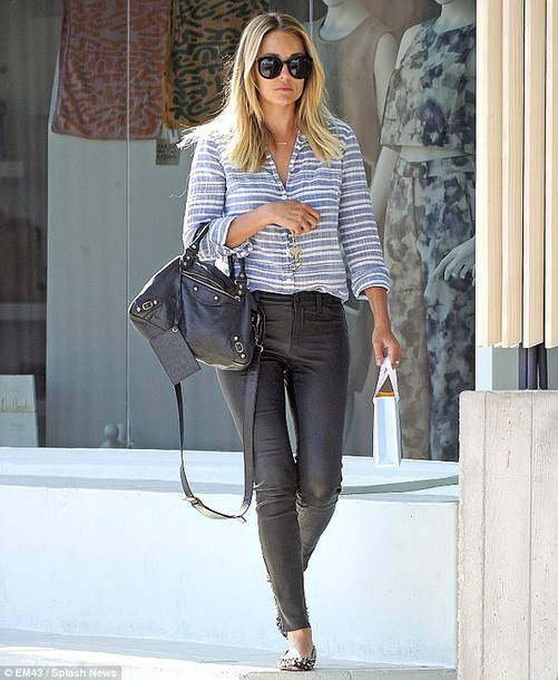bag lauren conrad shirt jeans shoes sunglasses