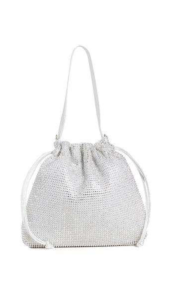 Shashi Discotheque Bag in silver