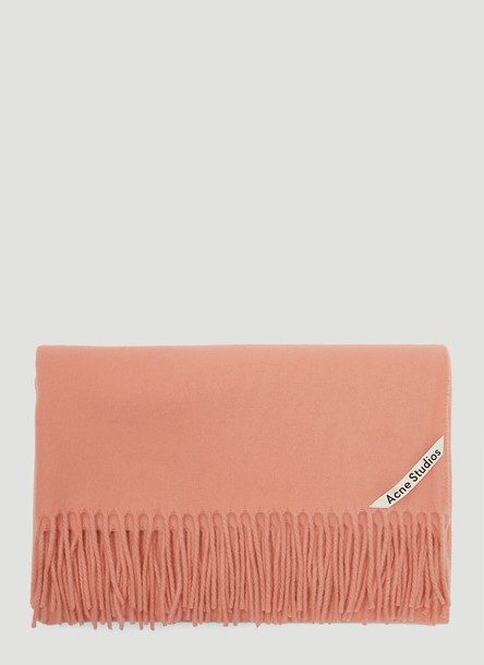 Acne Studios Canada New Scarf in Pink size One Size