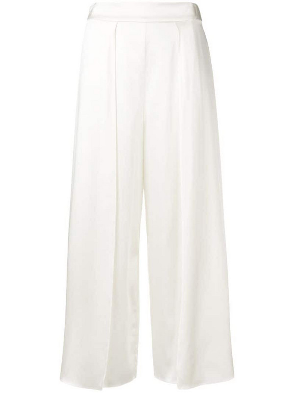 Myla Covent Garden palazzo trousers in neutrals