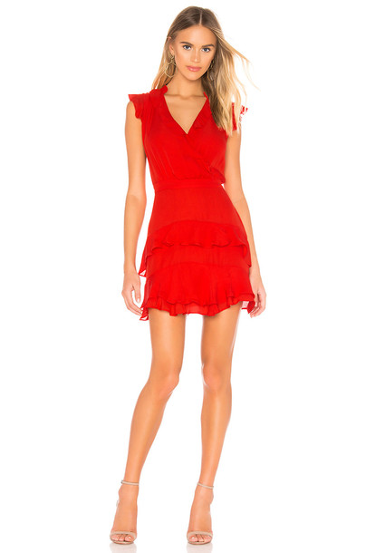 Parker Tangia Dress in red