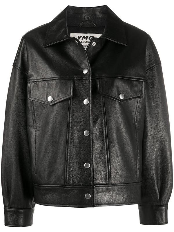 YMC point-collar jacket in black