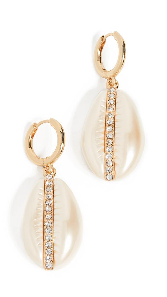 BaubleBar Fiji Drop Earrings in ivory