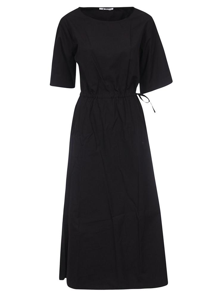 Barena Tie Waist Dress in black