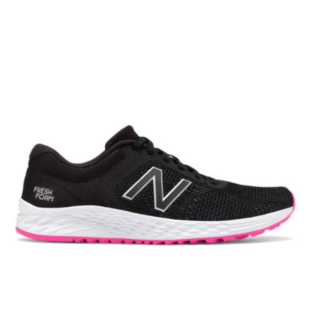 New Balance Fresh Foam Arishi v2 Women's Neutral Cushioned Shoes - Black/Pink (WARISSB2)