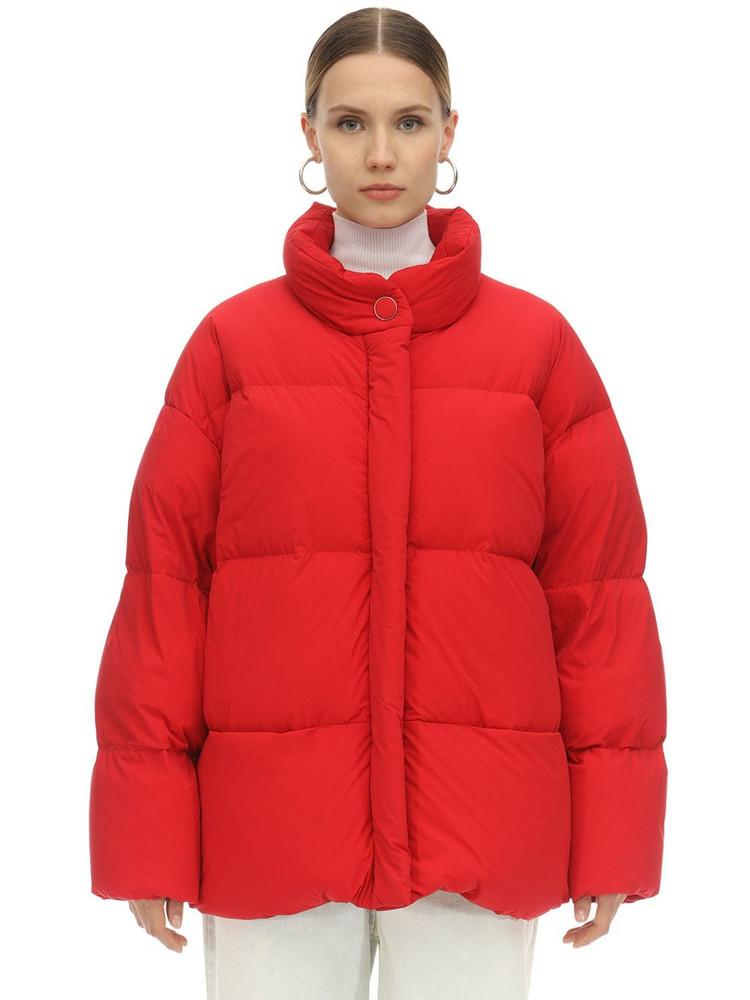 IENKI IENKI Cloud Ultra Light Matte Down Jacket in red