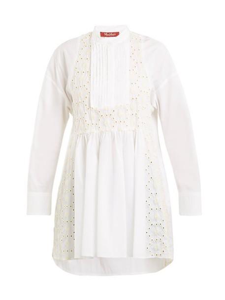 Max Mara Studio - Adige Shirt - Womens - White Multi