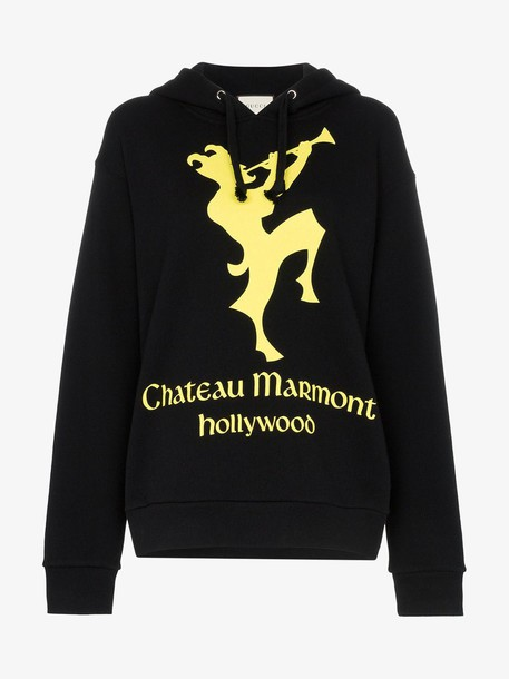 Gucci Chateau Marmont hoodie in black