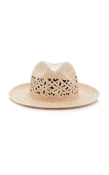 Yestadt Millinery Wonderlust Woven Straw Hat in neutral