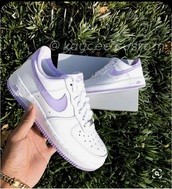 shoes,nike air force 1,nike,purple,sneakers,trainers