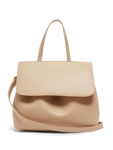 Mansur Gavriel - Mini Lady Leather Cross Body Bag - Womens - Beige