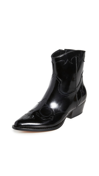 Villa Rouge Bronson Cowboy Boots in black