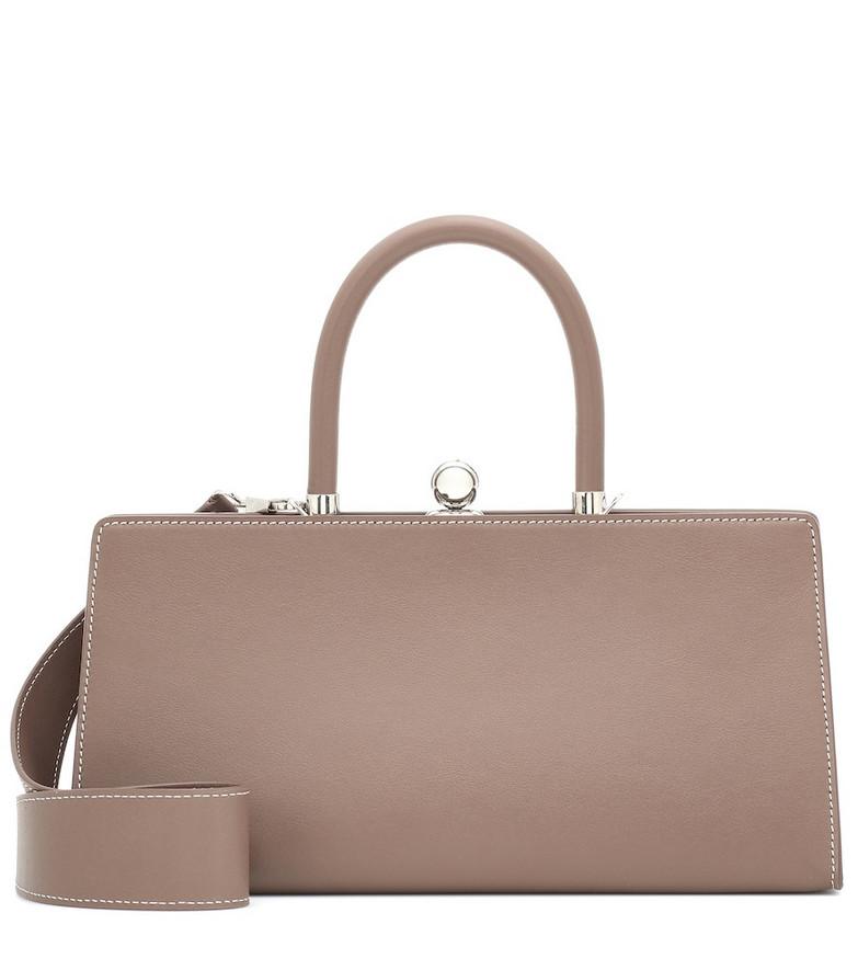 Ratio et Motus Sister leather shoulder bag in beige