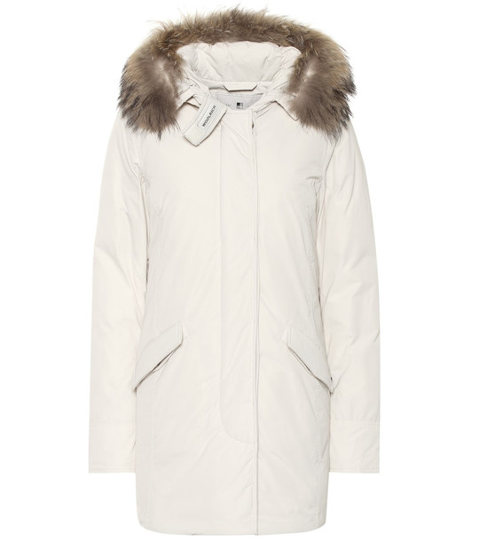 Woolrich Luxury Arctic down coat in white