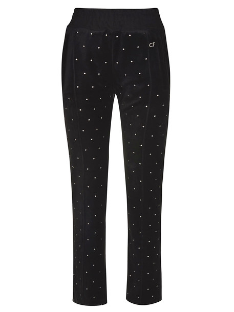 Chiara Ferragni Embellished Trousers in nero
