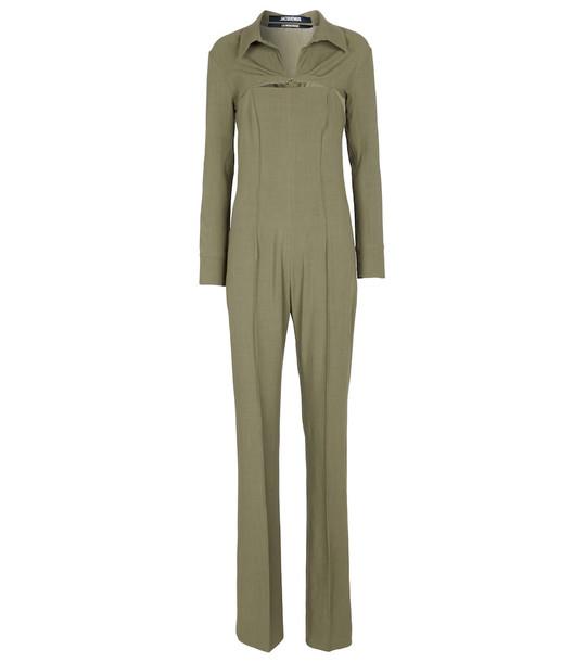 Jacquemus La Combinaison Asao jumpsuit in green