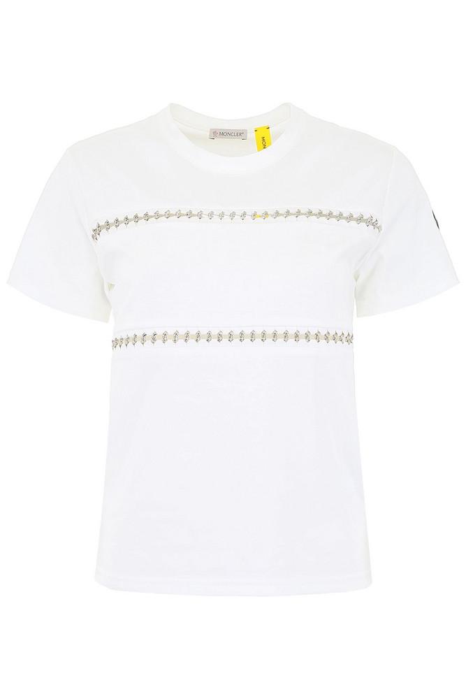 Moncler Moncler Genius 6 T-shirt in bianco