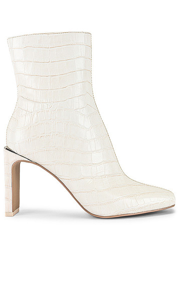 Dolce Vita Kelsie Bootie in White in ivory