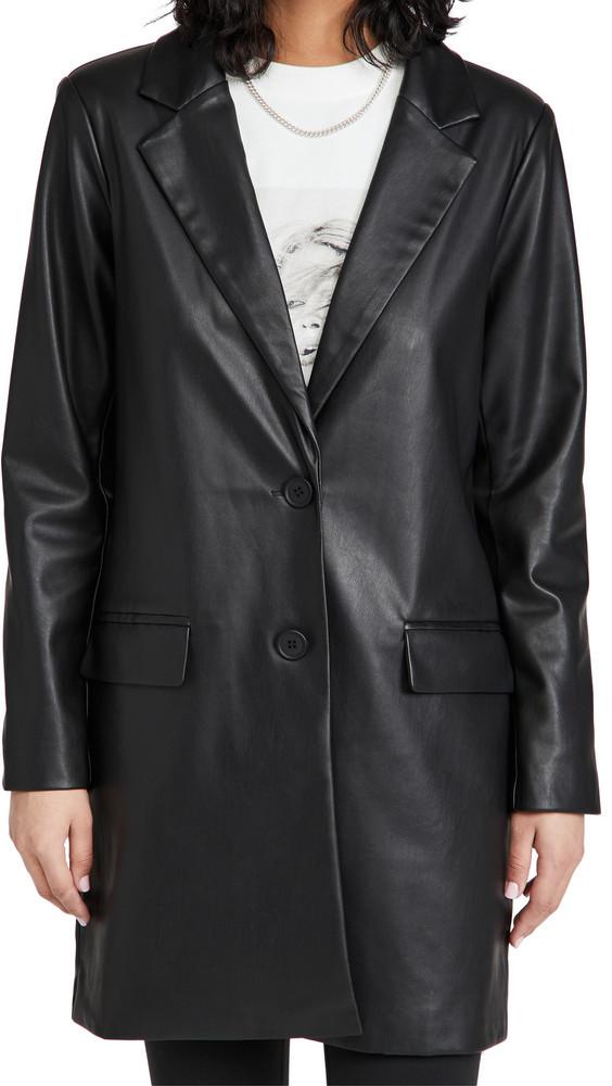 BB Dakota Model Behavior Coat in black