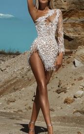 dress,rhinestones,cut-out,mini dress,evening dress
