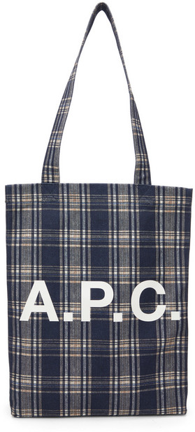 A.P.C. A.P.C. Navy Lou Tote