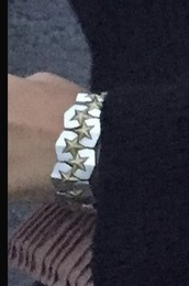 jewels,gold,silver,stars,bracelets