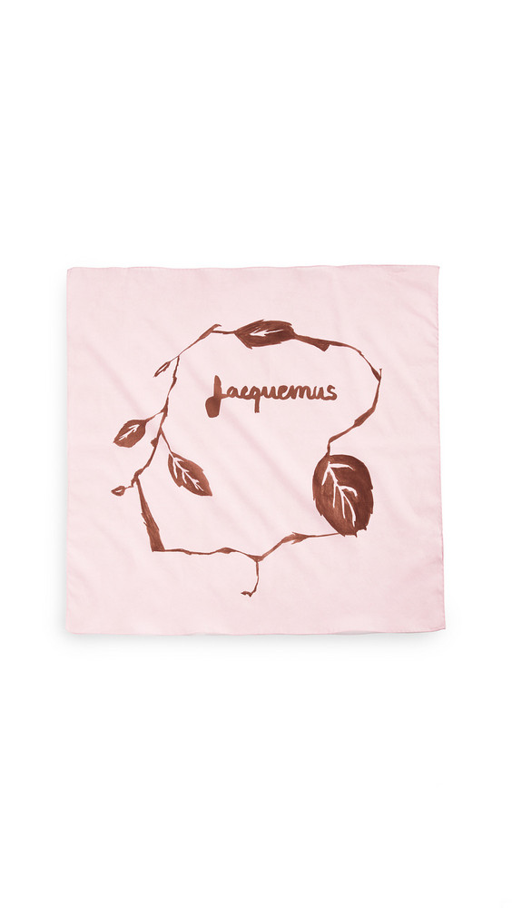 Jacquemus Le Bandeau Scarf in pink / print