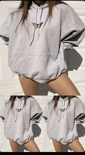 jacket,butterfly hoodie