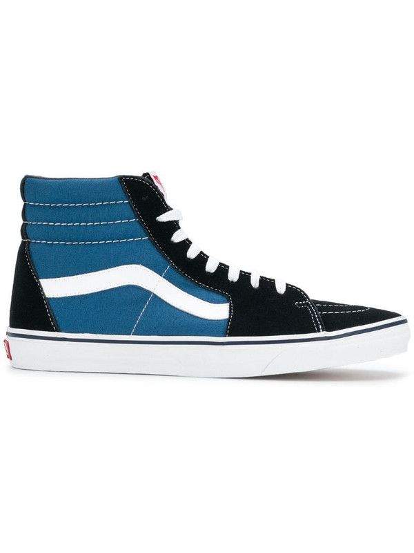 Vans Sk8 hi-top sneakers in black