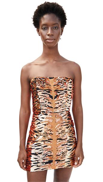 Retrofete Aurora Dress in black / orange
