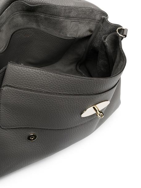 Mulberry oversized Alexa satchel in grey