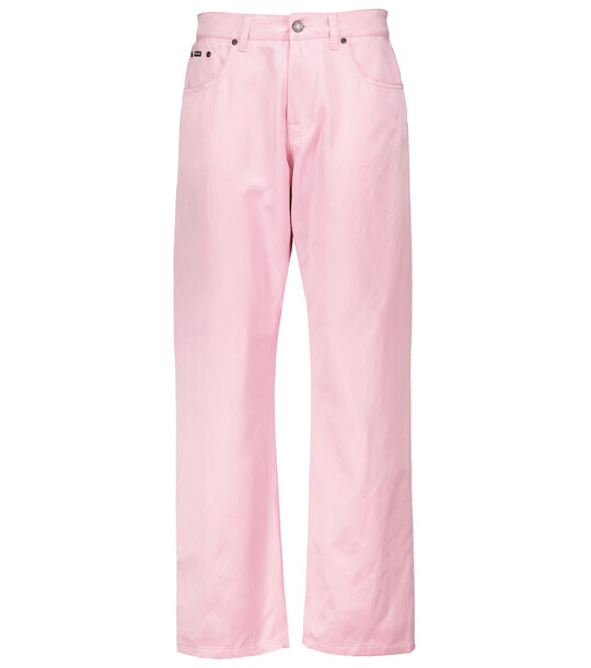 Tom Ford High-rise straight jeans in pink