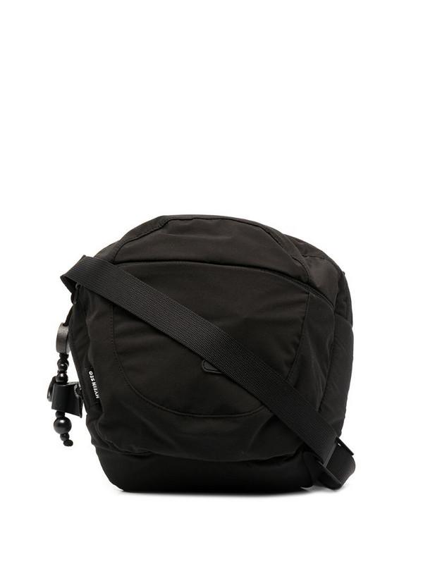 Hyein Seo logo-patch crossbody bag in black