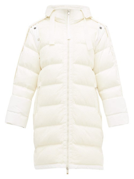2 Moncler 1952 - Narvalong Down Filled Technical Jacket - Womens - White