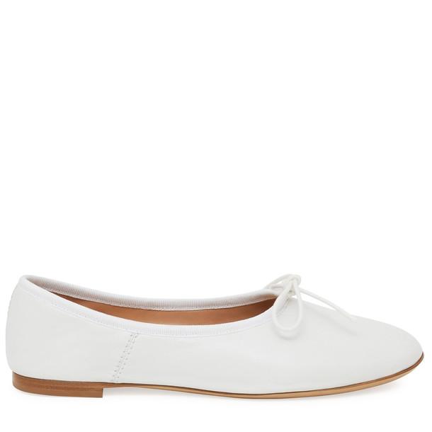 Mansur Gavriel Lamb Ballerina - White