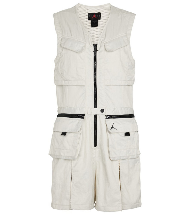 Nike Flight Suit technical jumpsuit in white