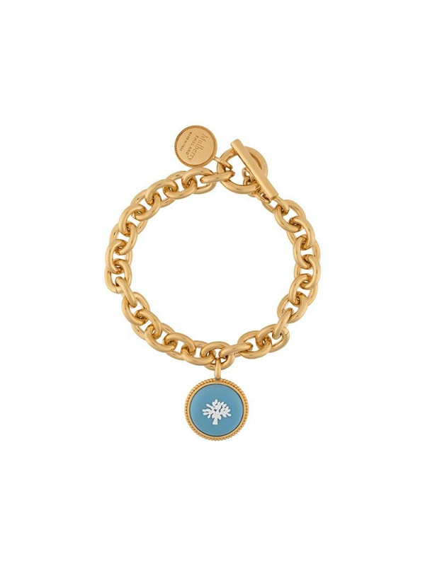 Mulberry Porcelain Tree bracelet in blue / gold