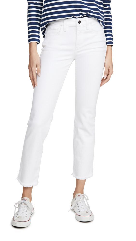 Joe's Jeans The Lara Cigarette Ankle Jeans in white