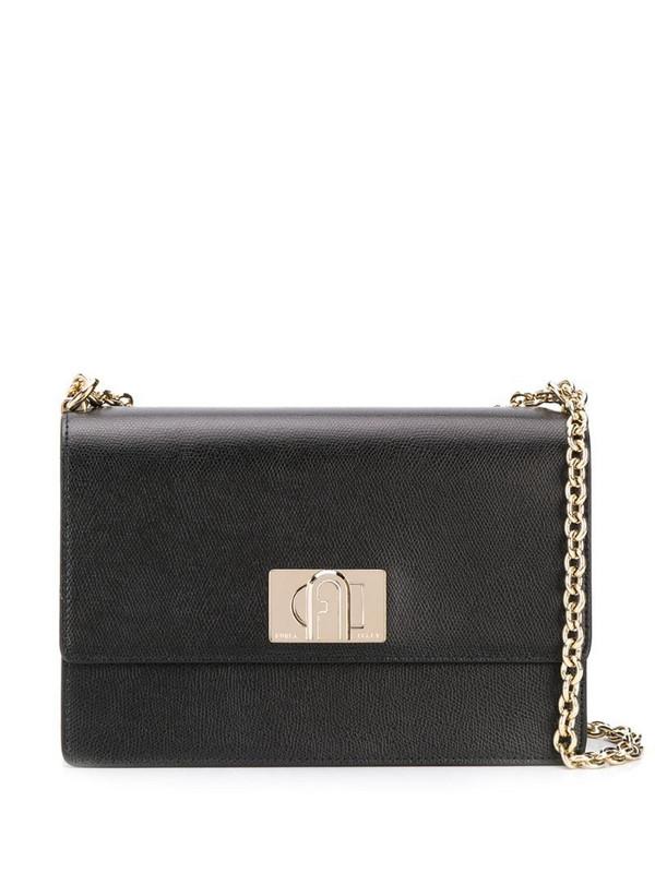 Furla 1927 shoulder bag in black